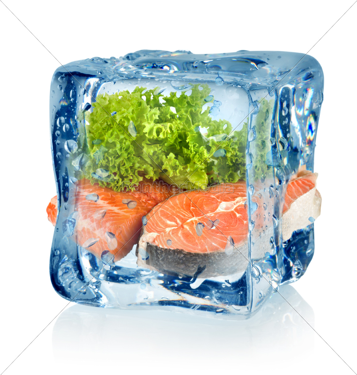 ice, cube, and, fish - 10125727