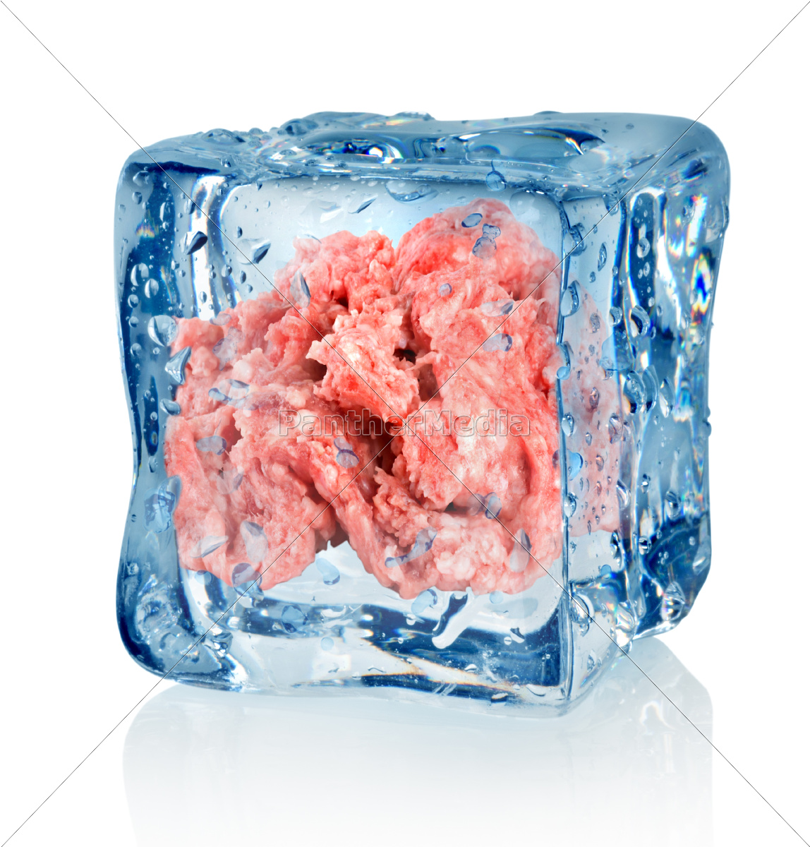 ice, cube, and, minced, meat - 10125751