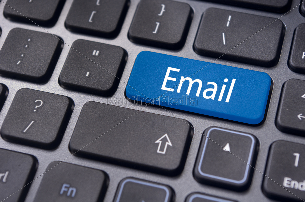 email, concepts, , messages, on, keyboard - 10129625