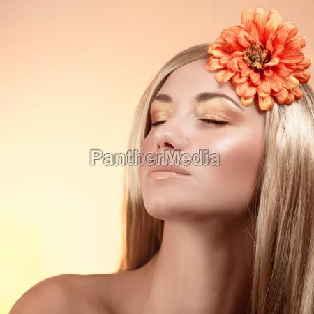 attractive female portrait