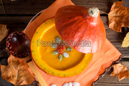 pumpkin, soup - 10140297