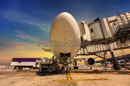 travel, traffic, transportation, sunset, runway, airport - 10140189