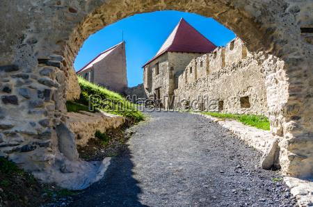rupea fortress medieval landmark of transylvania