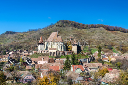 biertan fortified church transylvania