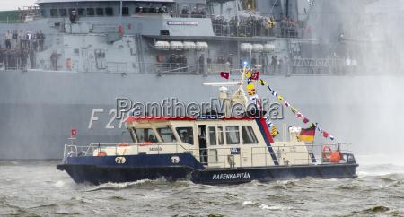 boat of port captain