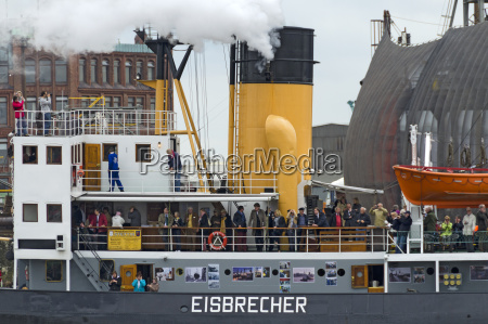 icebreaker at the harbor birthday
