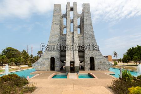 kwame nkrumah burial place