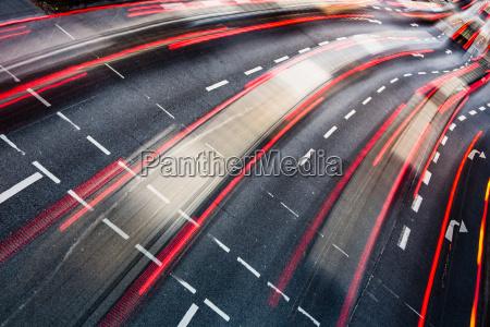 motion, blurred, city, road, traffic, - 10147997