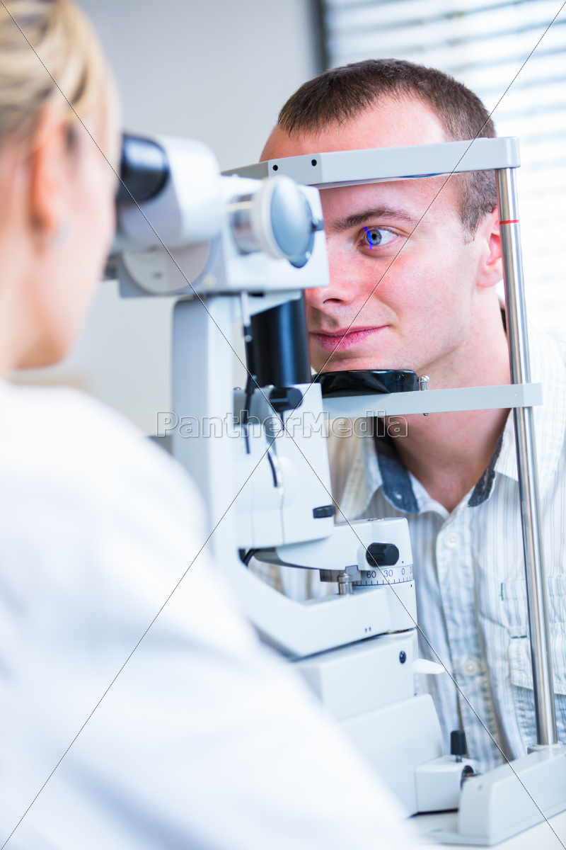 optometry, concept, -, handsome, young, man - 10147973