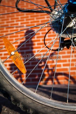 female, bikers, shadow - 10148027