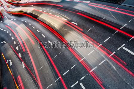 motion, blurred, city, road, traffic, - 10148003