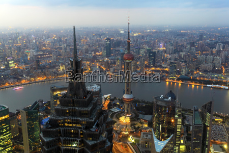 view, over, the, city, of, shanghai - 10148717