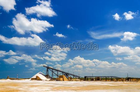 salt production factory