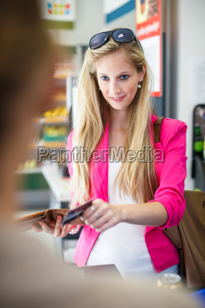 woman, fruit, shopping, supermarket, store, vegetables - 10150095
