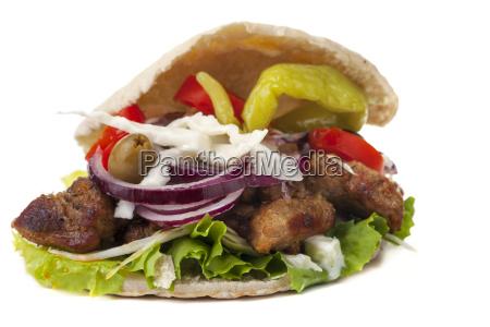 gyros in pita bread
