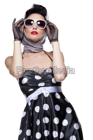 stylish, brunette - 10160733