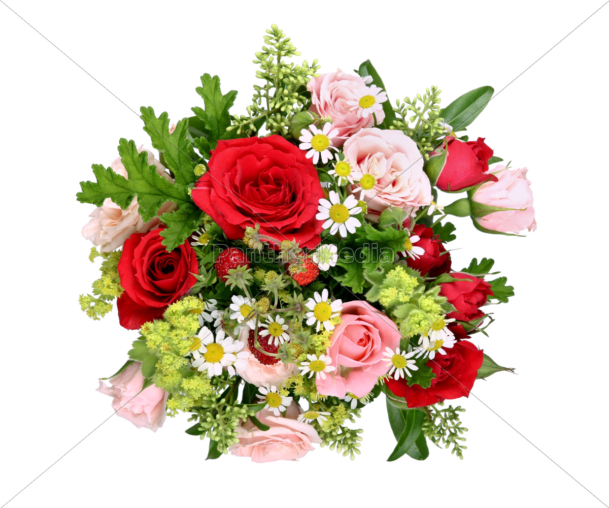 bouquet, with, various., roses, and, wild - 10162417