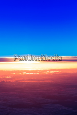 sunset with a height of 10
