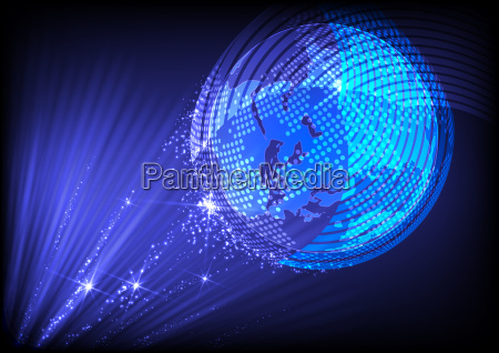 abstract planet background