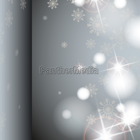gray, background, with, snowflakes. - 10169597