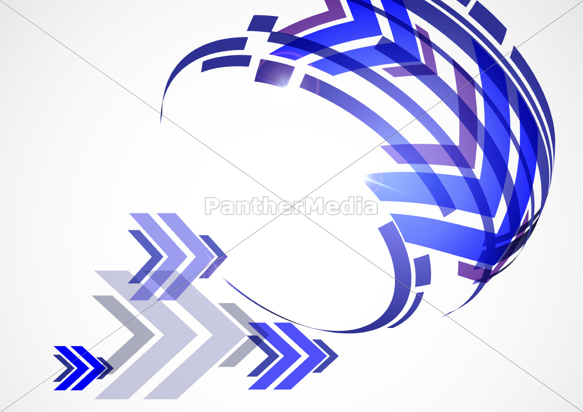 arrow, white, background, with, place, for - 10170275