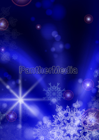blue, background, with, snowflakes. - 10170317