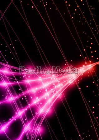 neon technology background