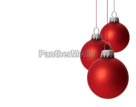 christmas christmas balls red