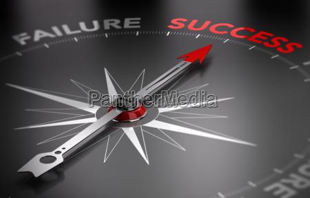 be successful success vs failure