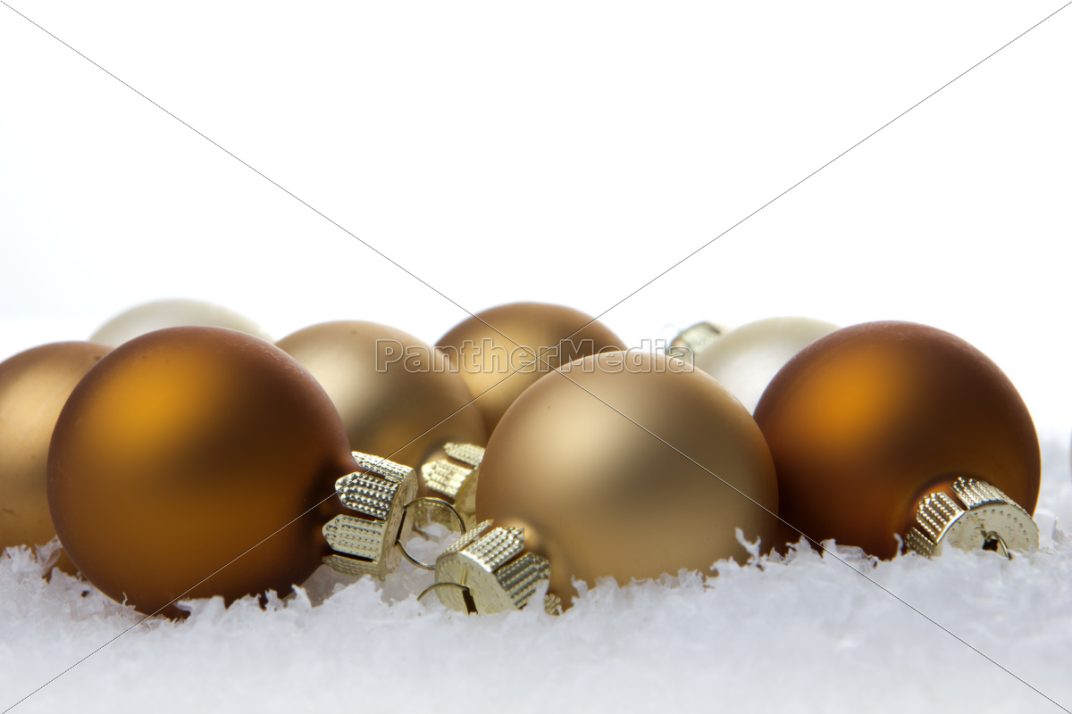 christmas, christmas, balls, cream, and, beige - 10185205