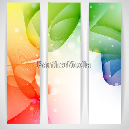 colorful, abstract, banner. - 10186761