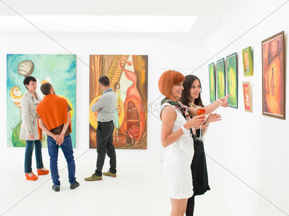 understanding, art, at, exhibition, opening - 10188775