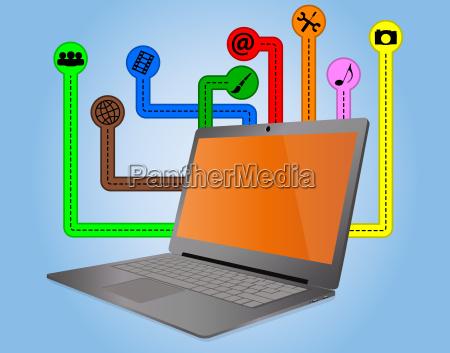 multimedia, laptop - 10190297