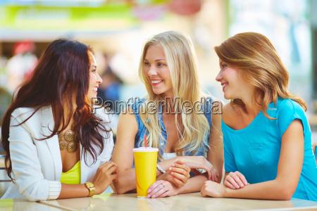 friendly talk
