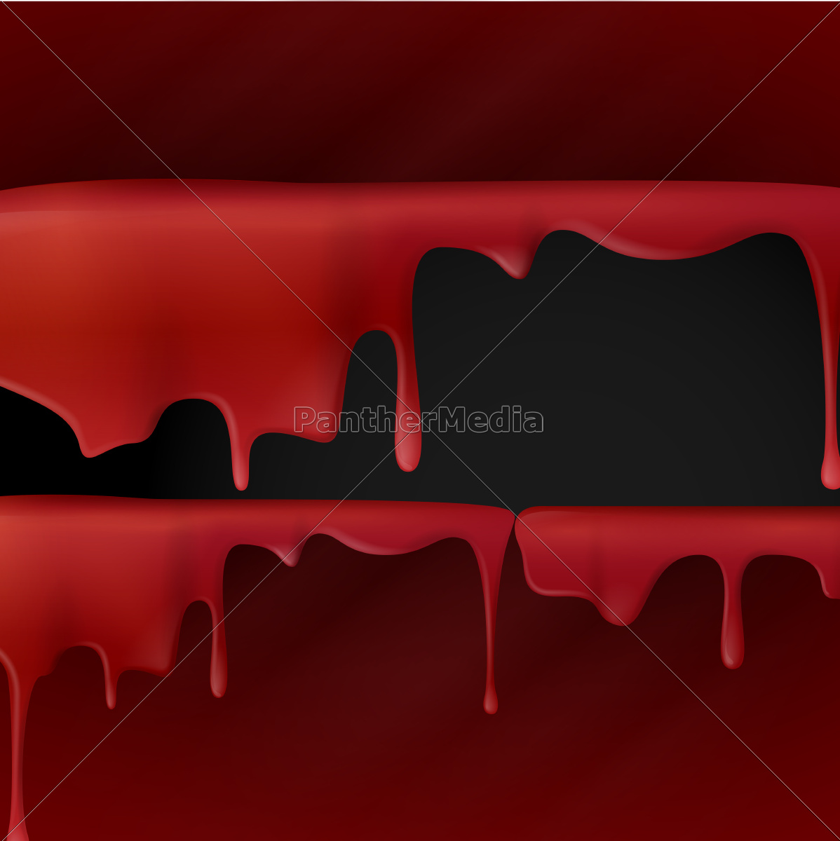 dripping, red, blood. - 10197765