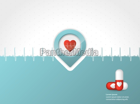 medical, background, design, with, symbols - 10197195