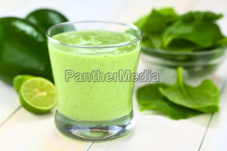 avocado, and, spinach, smoothie - 10200427