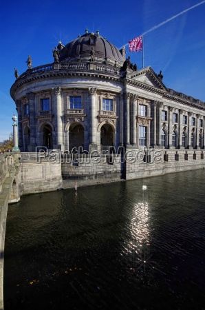 bode museum on the day with