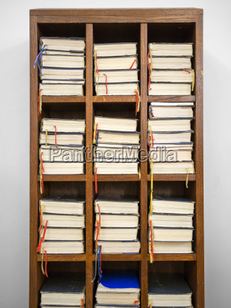 hymnals, in, a, rack - 10211373