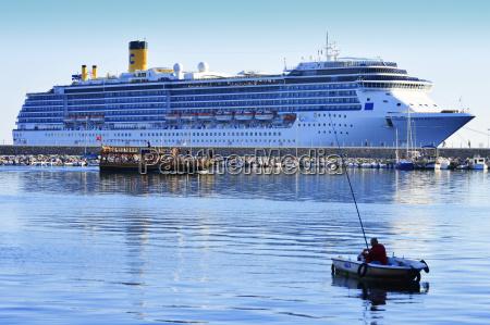 cruise ship costa mediterranea in alanya