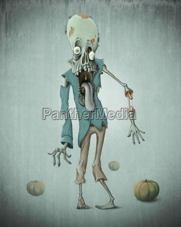 zombie, halloween - 10219019