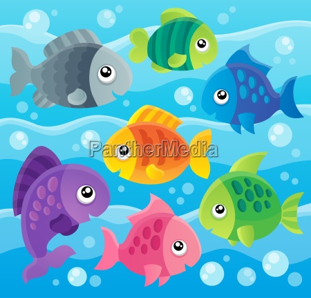 fish, theme, image, 7 - 10221477