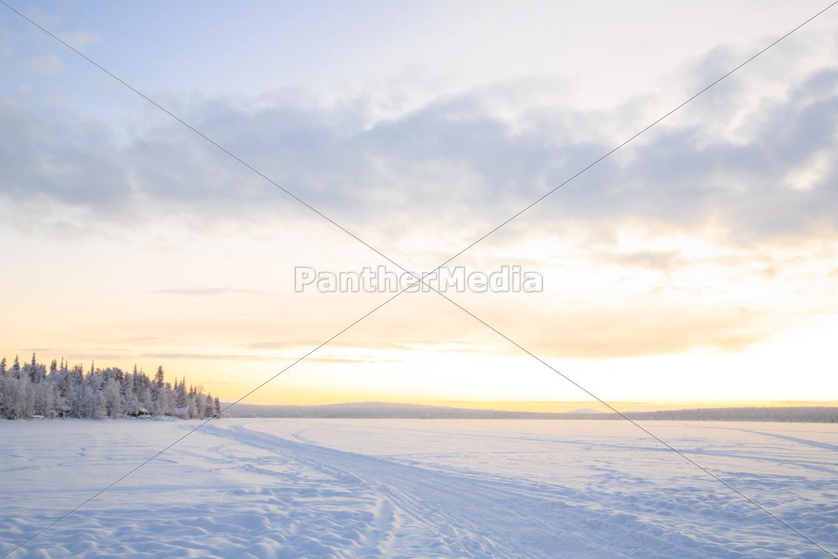sunrise, winter, landscape - 10225065