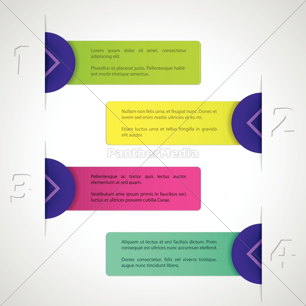 infographic, design, with, colorful, labels - 10232591