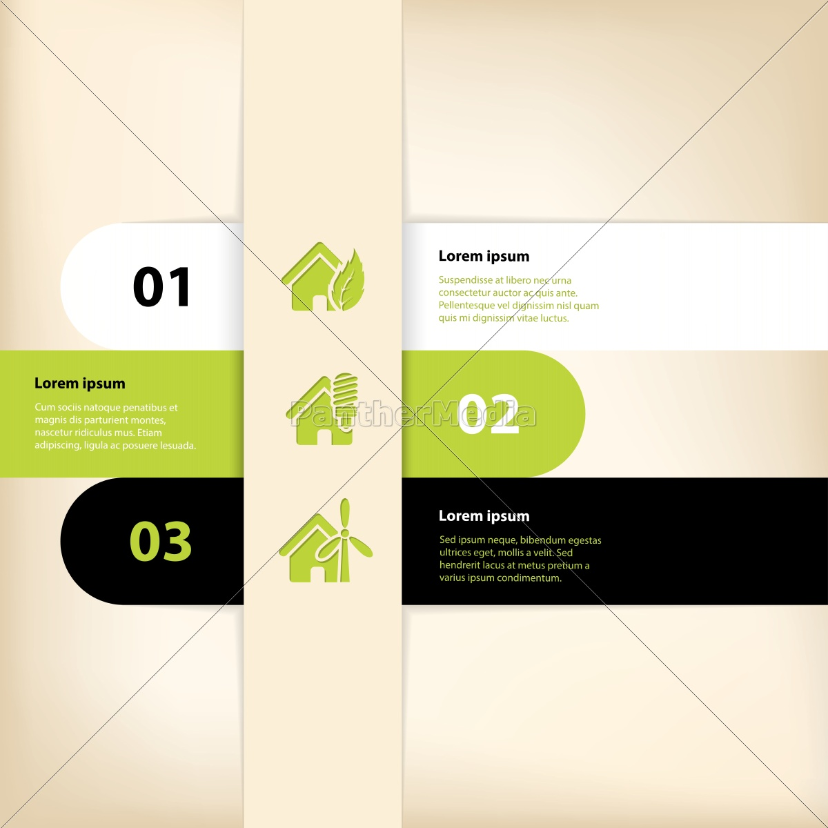 infographic, design, with, eco, house, theme - 10232577