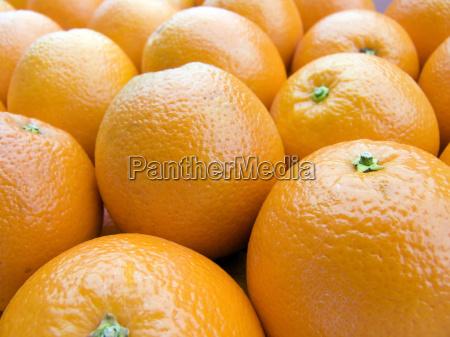 oranges background close up