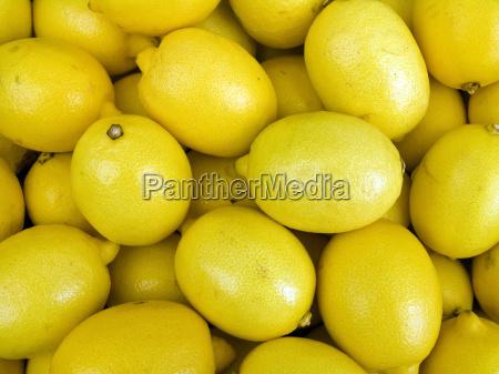 lemons on a counter