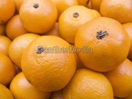 tangerines on a counter macro2