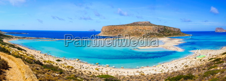 amazing, view, over, balos, lagoon, and - 10237761