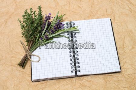 block lavender rosemary thyme